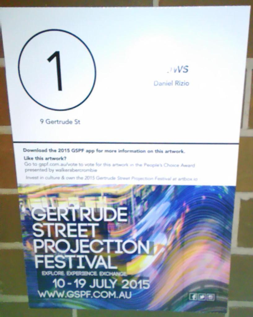 Gertrude Street Projection Festival